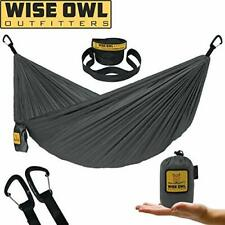 Wise Owl Outfitters Ultralight Camping Hammock with Tree Straps - Feather Light