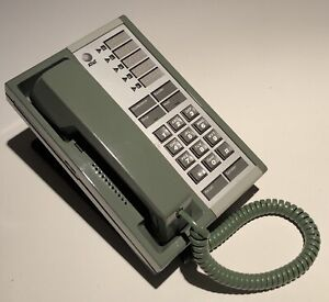 GREEN AT&T Merlin 5-Button Telephone Professionally Painted and Refurbished