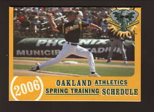 2006 Oakland Athletics Spring Training Schedule--Southwest Air