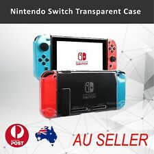 Transparent Clear Crystal Hard Case Cover Shell For Nintendo Switch & Joy-Con