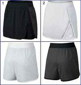 Womens Nike Court Skort Skirt Shorts Black/White 726100 051/032 Size S, M