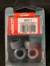 80515 NINCO TYRES TIRES FOR FORMULA CART 2 x FRONT + 2 x REAR  1:32 SCALE