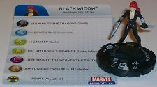 BLACK WIDOW #206 Captain America HeroClix gravity feed