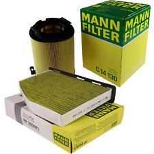 MANN-FILTER SET für VW Golf VI 5K1 1.6 MultiFuel Tiguan 5N 1.4 TSI 1K5 Bi-Fuel