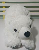 IKEA SNUTTIG Polar Bear Stuffed Animal Plush Kid Soft Toy 54CM LONG