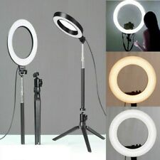 LED Ring Light Tripod Stand Selfie Camera Phone Holder Photography Studio Tools