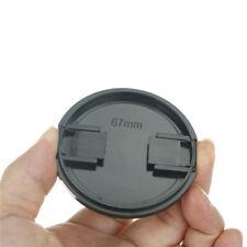 67mm Plastic Snap On Front Lens Cap Cover For SLR DSLR Camera DV Leica Sony Pip
