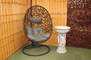 Rattan Swing Patio Garden Weave Hanging Egg Chair w/Cushion Indoor Outdoor