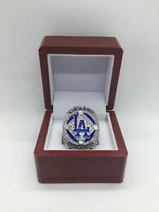 2020 Los Angeles Dodgers Championship Ring World Series Clayton Kershaw Ring Set