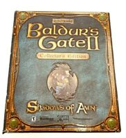 Baldur's Gate II: Shadows of Amn Collector's Edition Big Box CiB FLAWED CD CASE