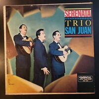 "Trio San Juan ""Serenata"" Vinyl Record LP"