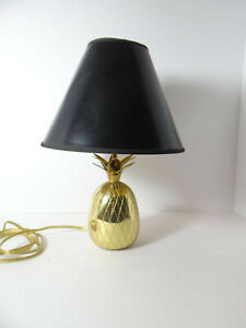 Metal Pineapple Lamp Table Desk Accent