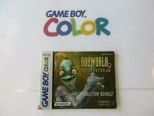 nintendo gameboy color manual: ODDWORLD ADVENTURES 2 -eur-