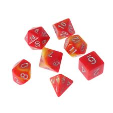 7-Dice Sided D4 D6 D8 D10 D12 D20 For Magic-the-Gathering D&D RPG Poly Game Set