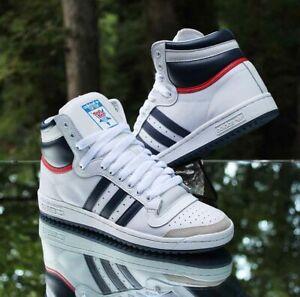 Adidas Originals Top Ten Hi OG Men's Size 9 White Blue Red D65161