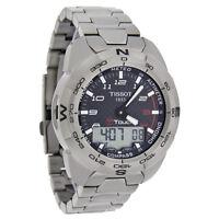 Tissot T-Touch Expert Mens Titanium Carbon Dial Swiss Watch T013.420.44.202.00
