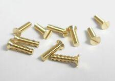 """1/8"""" BSW x 1/2"""" Brass Countersunk Head Machine Screws/Whitworth(UK Manufacturer)"""