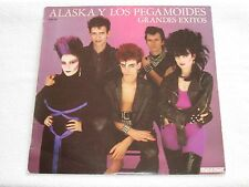 ALASKA Y LOS PEGAMOIDES LP GRANDES EXITOS 80´S POP SPANISH ORIGINAL ISSUE