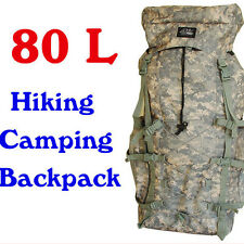Hiking Travel Backpack Rucksack Sport Camping Duffel Bag 80 L
