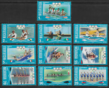 NICARAGUA , 1976 , OLYMPICS , SPORTS , SET OF 10 STAMPS , PERF , MNH , CV$6.75