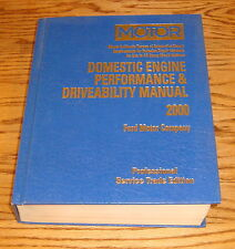 1998 1999 2000 MOTOR Ford Domestic Engine Performance & Driveability Manual