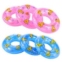 Barwa 3 pink swim rings + 3 blue swim rings Best gift for your baby