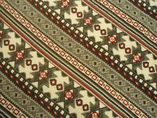 Pretty Southwest Tribal Full Size Flannel Duvet Cover in Black White Red & Gray