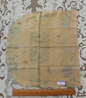 """Antique 18thC French Or Italian Silk Fabric~ L-26"""" X W-16""""~Museum Deaccession"""