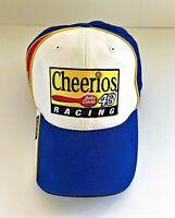 "Mens NASCAR ""Bobby Labonte #43"" Cheerios -Betty Crocker- Blue & Yellow hat/cap"