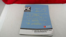 PE Civil: Water Resources and Environmental Sample Questions and Solutions NCEES