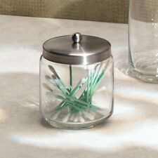 Bathroom Kitchen Forma Apothecary Jar Candy Q-tips 1 Brushed Stainless Steel New