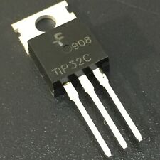 10PCS TIP32C 3A PNP Complementary Power Transistors TO-220 USA Fast Shipping