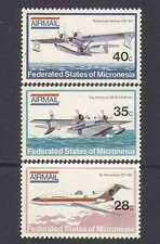 Micronesia 1984 Planes/Aviation/Aircraft/Transport/Flying Boats 3v set (n24332)