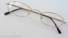 Cheap Glasses Frames Golden Reading Without Flat Form Occhiali Size M
