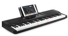 The ONE Light Keyboard Piano 61-Key Portable Keyboard Electronic Keyboard, Black