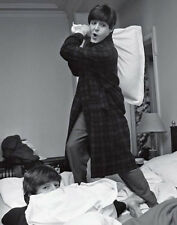 The Beatles Pillow Fight  Wall Art Print  Photo 14 x 11""