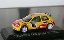 CITROEN SAXO s1600 SUPER 1600 RALLY Spain 2002 sola Lloret Ixo Altaya SP 1:43