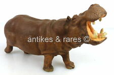 altes Lineol Tier: Flusspferd (linol132)
