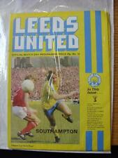 24/01/1979 Football League Cup Semi-Final: Leeds United v Southampton  (Item in