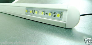 "40"" 1m 12V 72 LED 5630 Aluminum Shell Strip Super Bright Furniture Cabinet Light"