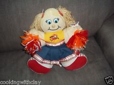 WNBA MASCOT PLUSH DOLL FIGURE CONNECTICUT SUN CHEERLEADER MASCOT JUMPIN BEAN TOY