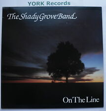 SHADY GROVE BAND - On The Line - Excellent Con LP Record Flying Fish FF 462