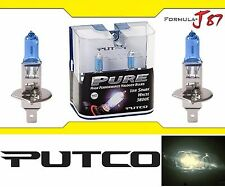 Putco 3800K Iron White H1 230100SW 55W Two Bulbs Head Light Low Beam Replace OE