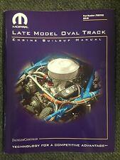 MOPAR LATE MODEL OVAL TRACK ENGINE BUILD UP MANUAL P5007450