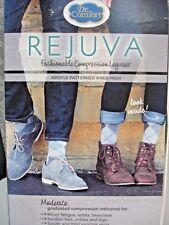 Dr. Comfort Rejuva Argyle Socks in Smoke Size XL 15-20 mmHg  Unisex 714275