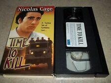 VHS: Time to Kill: 1991 Nicolas Cage