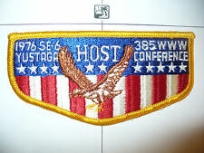 OA Yustaga 385 S-7, 1976 SE-6 Conference BIC HOST Flap,85,200,237,265,340,552,FL