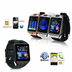 SMARTWATCH DZ09 OROLOGIO TELEFONO CELLULARE BLUETOOTH SIM CARD MICRO SD PHONE IT