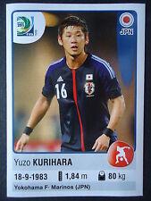 PANINI 63 Yuzo Kurihara Giappone confed cup 2013 Brasile