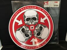Thirty Seconds To Mars– A Beautiful Lie PD Skulls Logo LE 30